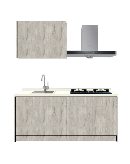 Castillo Oak Kitchen Cabinet i6